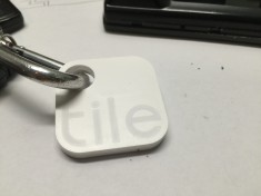 Tile on Keychain