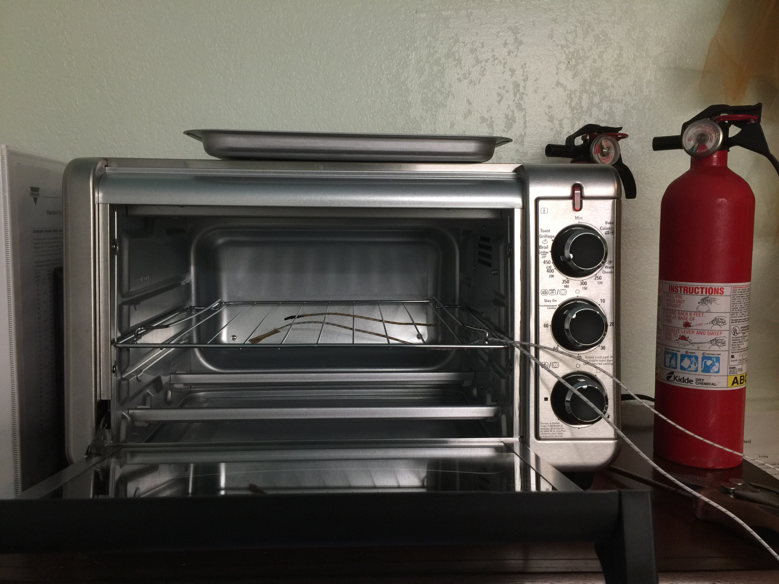 Toaster Oven with Sensors