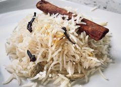 Aromatic Basmati Rice w/ Saffron