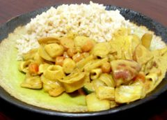Thai Seafood Yellow Curry