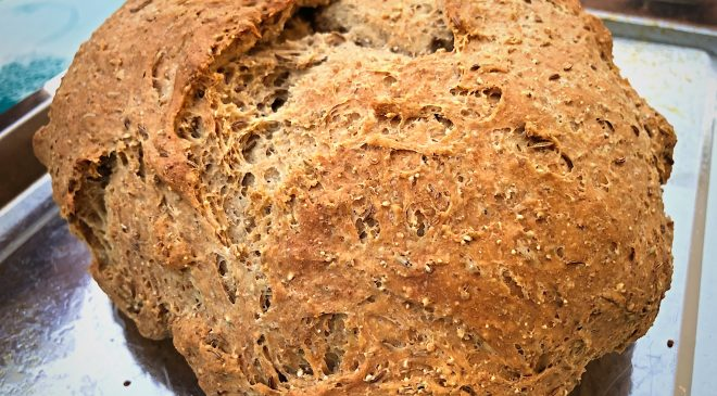 Whole Grain Rye Bread